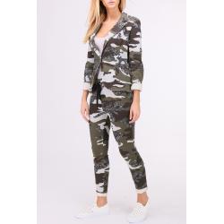 Lurex Military Pants