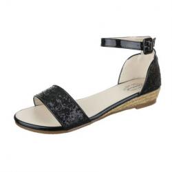 Sandales femme - noir