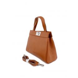 Mini Cowhide Leather Handbag 8632-Cogna