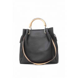 Soft Handbag with Removable Pouch
