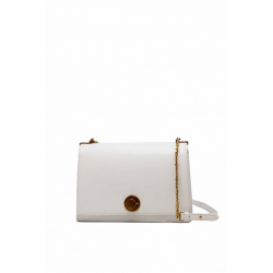 Minimalist Flip Leather Shoulder Bag in Leatherette