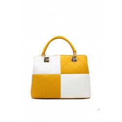 Bicolour Handbag