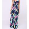 Long dress printed by Sara