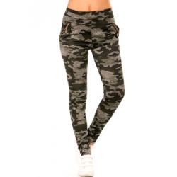 Pantalon slim militaire